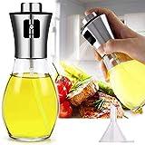 Pulverizador de Aceite de Oliva,Dispensador de Aceite, Para todo tipo de aceites, Vinagre y Aceite para Cocinar/Ensalada/Hornear Pan/Carne Asada (001)