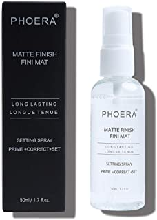 Angmile Makeup Setting Spray Makeup Finisher Spray Oil-