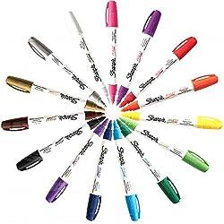 cheap Sharpie KIT-PNTMKR-15-MD Oil-based center marker, all 15 colors