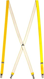 7220acaa9c0 SuspenderStore Men s Thin Suspenders - 3 4 Inch Wide Satin Finish