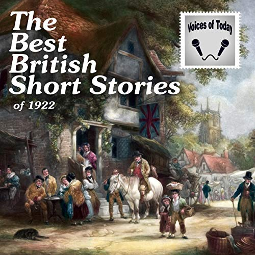 『The Best British Short Stories of 1922』のカバーアート