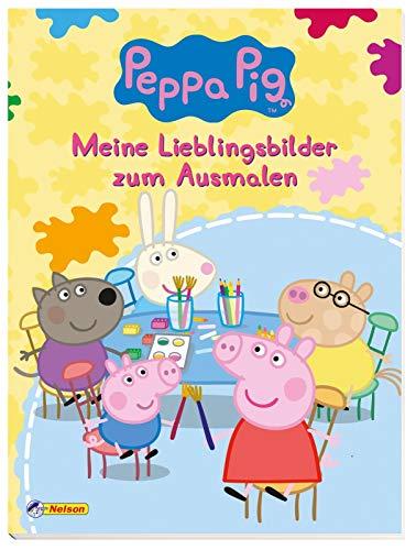 Peppa: Meine Lieblingsbilder zum Ausmalen (Peppa Pig)
