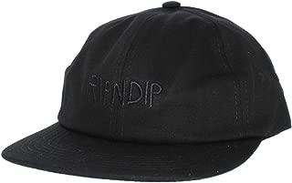RIPNDIP Hat Tonal Logo 6 Panel Adjustable Strapback