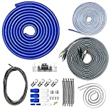 CT Sounds 0 Gauge CCA Complete Amp Wiring Install Kit, AMPKIT-0GA-PRO