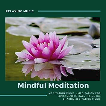 Mindful Meditation (Meditation For Mindfulness, Meditation Music, Relaxing Music, Calming Music, Chakra Meditation Music)