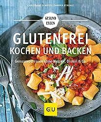 Kochbuch mit glutenfreien Rezepten zum Kochen und Backen