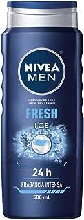Nivea Men Jabón Líquido Corporal Hombre 3 En 1 Ice, 500ml