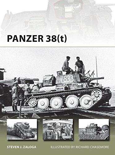Panzer 38(t) (New Vanguard Book 215) (English Edition)