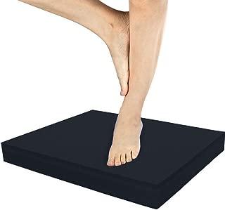 IADUMO Balance Pad Yoga Mat,Foam Multipurpose Knee Mat Nonslip Stability TPE Cushion Fitness Exercises Pad for Physical Therapy,Yoga,Balance Training, Rehab,Travel Mat,Gardening Work.