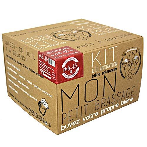 Mon Petit Brassage   Kit Brassage Bière   Pale Ale 5,6% Alc.   Mode d'Emploi FR/EN   Bière artisanale pour brasser à la maison