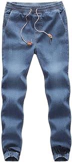 VPASS Pantalones Vaqueros para Hombre,Pantalones Casuales