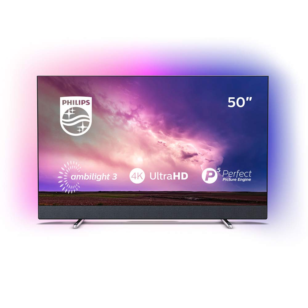 Philips - TV Led 127 Cm (50)  Philips 50Pus8804/12 4K HDR Smart TV, Ambilight Y Android TV con Inteligencia Artificial (IA): Amazon.es: Electrónica