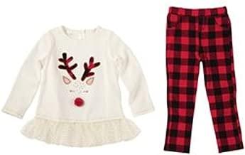 mud pie reindeer tunic and leggings