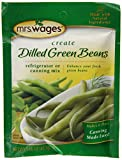 Mrs. Wages Dilled Green Beans, 1.7-Ounce Pouches (Pack of 12)