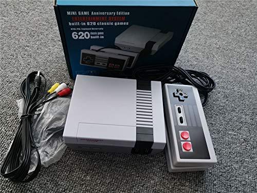 Mini Consola De Juegos Retro Clásica,Consola De Videojuegos Integrada, Salida AV, con 2 Controladores NES Classic, Videojuegos De Salida AV,para Regalo De Niños, Childhood Memories