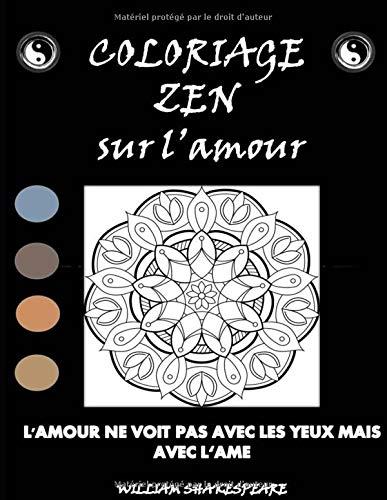 Coloriage Zen: Sur l'amour