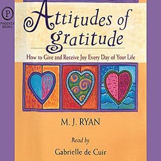 Attitudes of Gratitude audiobook cover art