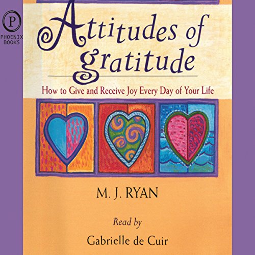 Attitudes of Gratitude audiobook cover art