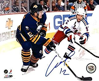 Autographed Signed Ales Kotalik Buffalo Sabres 8x10 Photo - Certified Authentic