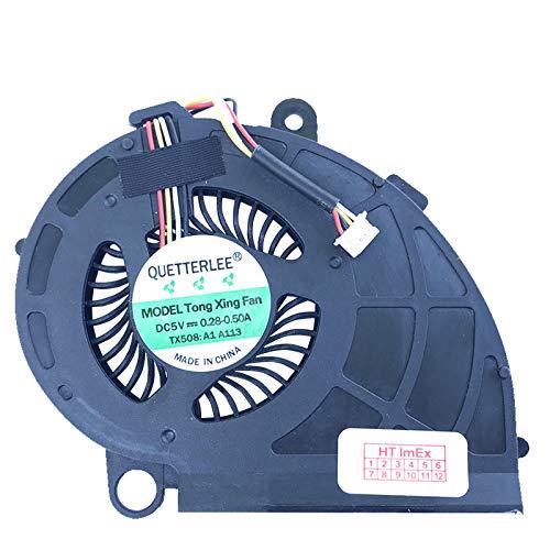 Lüfter/Kühler Fan kompatibel mit Acer Aspire M3-481, X483G, M5-481, M5-481G, M3-481G, M5-481PTG, M5-481T, M5-481TG, M5-481PT