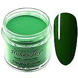 28g/Box Green Color Dipping Powder Without Lamp Cure Nails Dip Powder Summer Gel Nail Color Powder Natural Dry (no.13)