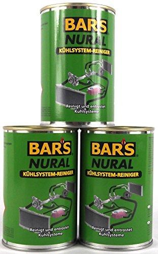 3X DR. WACK BAR'S Bars Nural Kühlsystem-Reiniger 150 g