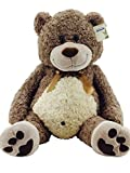 Sweety Toys 3785 XXL Riesen Teddy Teddybär Bär Plüschbär Willi super süss Teddybär 90 cm Willibär Kuschelbär