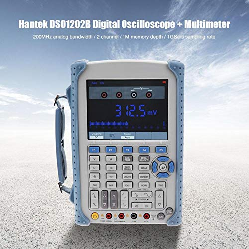 Oszilloskop-Multimeter Hochbandbreite 1GSa / s Abtastrate Handoszilloskop Oszilloskop für die Industrie(European regulations)