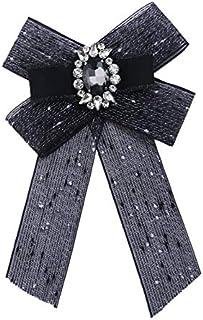CBCJU Boutonniere Broche de Lazo de Tela de Diamantes 20 * 12.5cm