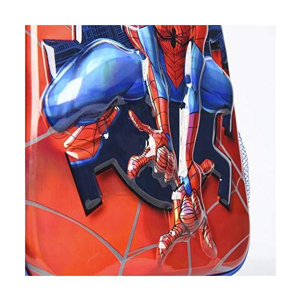 51lUCJ+ IjL. SS600  - Cerdá, Mochila Infantil 1-5 Años de Spiderman con Licencia Oficial de Marvel Studios-Medidas 25 x 31 x 10 cm Unisex…