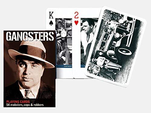 Gibsons Games Piatnik–Carte Gangsters Single Deck