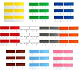 Tag-A-Room Color Coded Mover Labels, Moving Supplies Stickers 120 Count