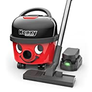 The Henry Cordless Cylinder Vacuum is supplied with 2 x 36v batteries, extending cleaning time with a simple 1-click battery swap Selecting Lo of the 2 speed (Hi/Lo) setting extends battery run-time during regular cleaning, while Hi is on-hand when m...