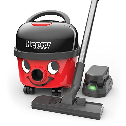 Numatic HVB160 Cordless Henry Cylinder Vacuum Cleaner with 2 x 36 V...
