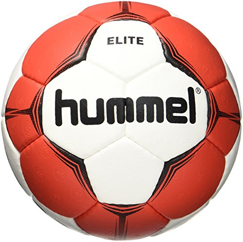 Hummel Kinder Smu Elite HB Handball, White/Red, 1
