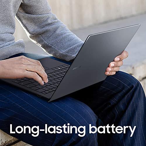 Product Image 7: Samsung Galaxy Book S 13.3″ FHD Touchscreen | Intel Core i5 Processor | 8GB Memory | 256GB SSD (NP767XCM-K01US), Mercury Gray