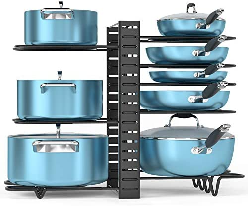 ORDORA Pot and Pan Organizer for Cabinet