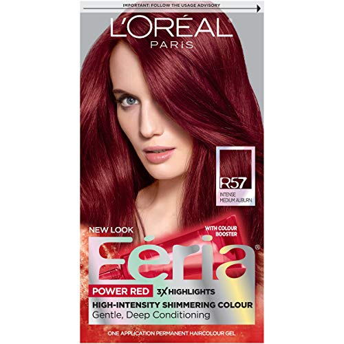 Feria Multi-Faceted Hair Color Kit in Cherry Crush