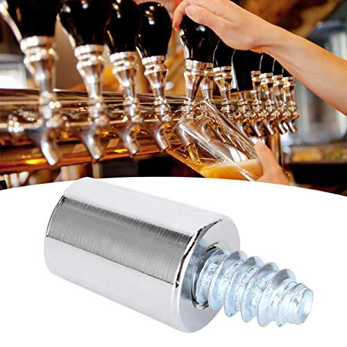 Omabeta Juego de Pernos de virola con Mango de Grifo de Cerveza de Acero Inoxidable 304 para Accesorio de fermentación