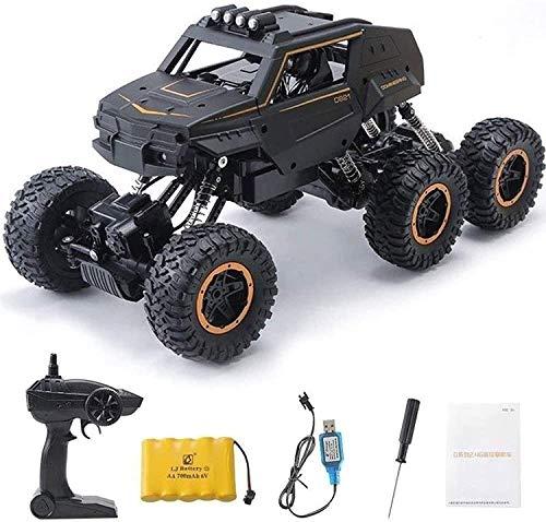 HSPHFX 38.5 cm Hobby Principiantes Off-Road Vehículo rápido, Super Pie Monster Automóvil Extremo de seis ruedas Coche de carreras de seis ruedas, Césped de jardín al aire libre EXPERIENCIA MODELO MODE