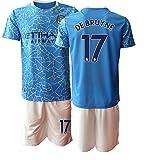 TAOZHUANG 20/21 Niños DEBRUYNE 17# Camiseta de fútbol Camiseta de Jugador (Niños de 4 a 13 años) (20)