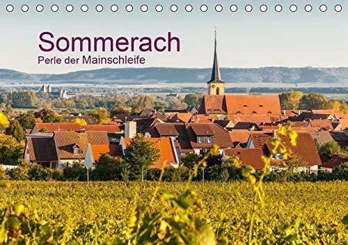 Sommerach - Perle der Mainschleife (Tischkalender 2020 DIN A5 quer): Sommerach in der Mainschleife - Mainfranken (Monatskalender, 14 Seiten ) (CALVENDO Orte)