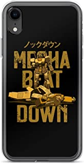 iPhone 6/6s Case Anti-Scratch Japanese Comic Transparent Cases Cover Knockout Mecha Beatdown Gold Edition Anime & Manga Graphic Novels Crystal Clear