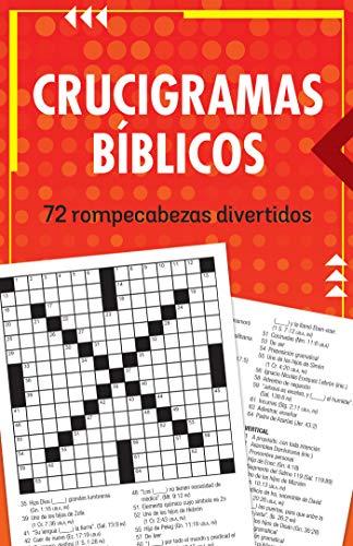 Crucigramas Bíblicos: 72 Rompecabezas Divertidos