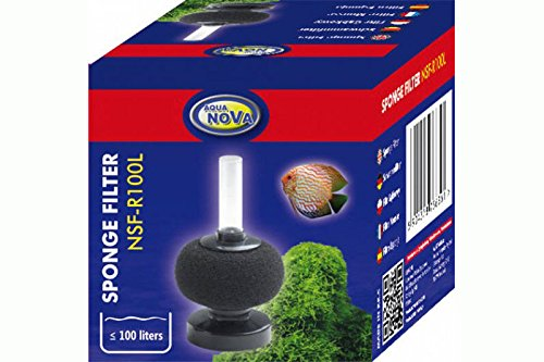 Aqua Nova Bio Filtre éponge – Forme Ronde