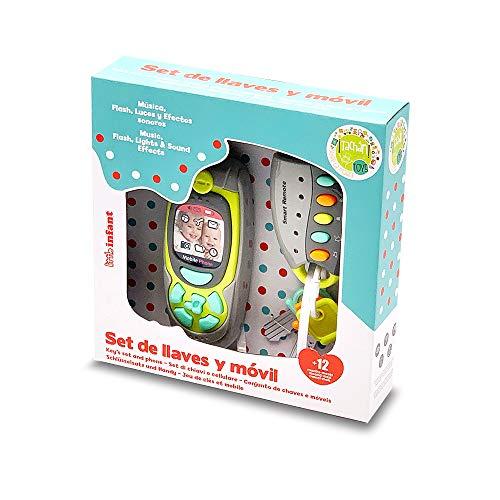 cpa toy group trading s.l.- Set de Juego Musical con Llaves, Mando y móvil telefono (768T00380)