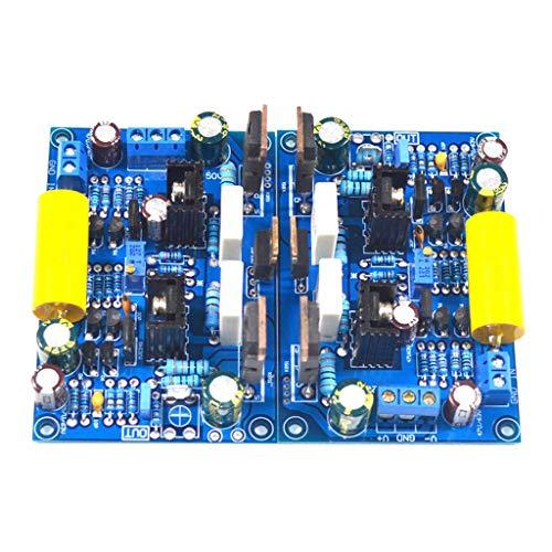 SDENSHI 2X Klasse A Leistungsverstärkerplatine 100 W Lautsprecher Verstärker FET Modul K851