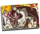 Pablo Picasso - Lienzo decorativo (76,2 x 50,8 cm), diseño de caballo español