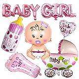 Decoración para baby shower, para niñas, globo para baby shower, fiesta de...