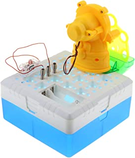 Flameer DIY Bubble Machine Science Experiment Toy Electronic Discovery Kit Preschool Science Learning Toy for Kids Children